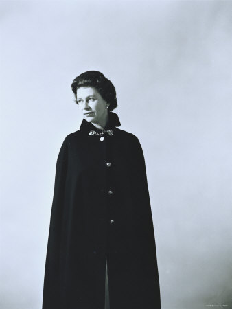 Elizabeth II, Born 21 April 1926 Stretched Canvas Print