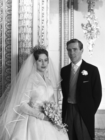 Wedding of the Late Princess Margaret and Photographer Antony Armstrong-Jones, Westminster Abbey Stretched Canvas Print