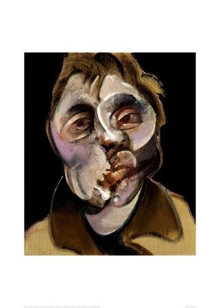 Self Portrait c1969 affiche tableaux par Francis Bacon