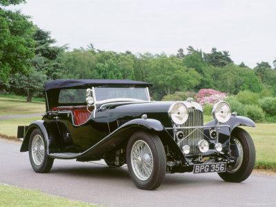 1937 Lagonda Stretched Canvas Print