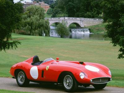 1953 Ferrari Stretched Canvas Print