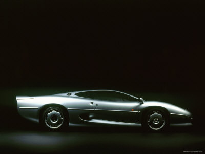 1993 Jaguar XJ 220 Stretched Canvas Print