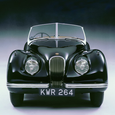 1950 Jaguar XK120 Stretched Canvas Print