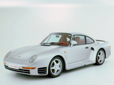 1988 Porsche 959 Stretched Canvas Print