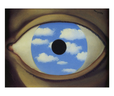 Rene Magritte Le Faux Miroir Of R Serve D 39 Inspirations Le Peintre Ren Magritte