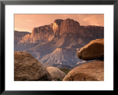 Guadalupe Peak, el Capitan, Guadalupe Mountains National Park, Texas Pre-made Frame by Witold Skrypczak