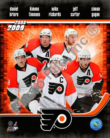 2008-09 PHILADELPHIA FLYERS Photograph at Art.