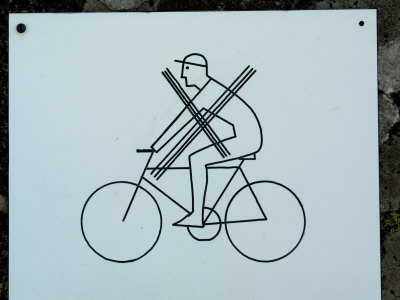 bike rider clip art. Graphic art vector about