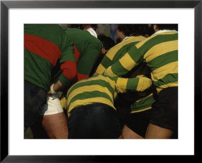 Framed Print on Rugby  Vintage Art  Framed Photographic Print At Art Com