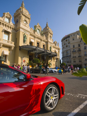 Grand Casino, Monte Carlo, Monaco Stretched Canvas Print