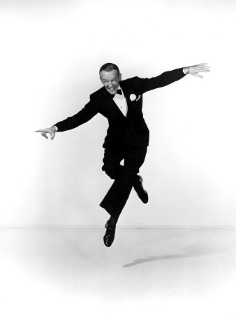 Fred Astaire Stretched Canvas Print