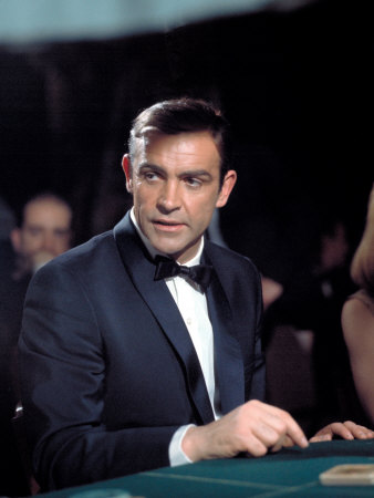 Thunderball, Sean Connery, 1965 Stretched Canvas Print
