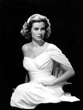 Grace Kelly, 1954 Stretched Canvas Print