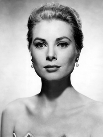 Grace Kelly, 1955 Stretched Canvas Print