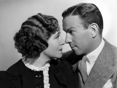 Gracie Allen, George Burns, 1936 Stretched Canvas Print