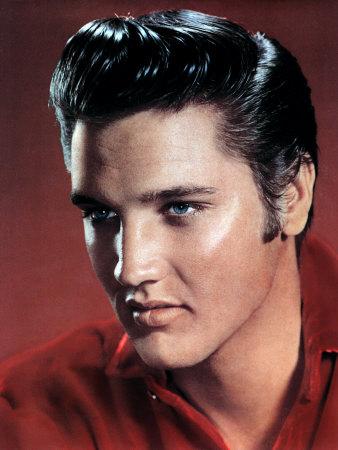 Elvis Presley Stretched Canvas Print