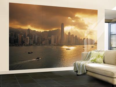 Hong Kong Skyline Wallpaper. Hong Kong Skyline from Kowloon