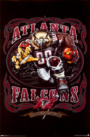 ATLANTA FALCONS Poster at Art.com