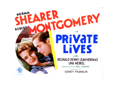 Vies privées (1931) Private-lives-norma-shearer-robert-montgomery-1931