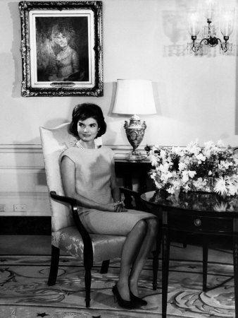 jacqueline kennedy  1960s premium poster