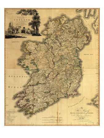map of ireland with towns. map of ireland counties