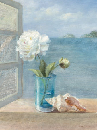 Coastal Floral I still life artwork by Danhui Nai