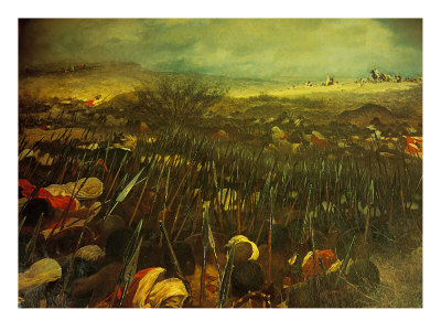 Battle of Dogali Giclee Print at Art.