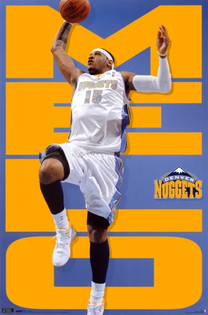 Carmelo Anthony Denver Nuggets. Denver Nuggets - Carmelo