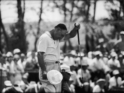 Ben Hogan U.S. National Open Golf Tournament Cherry Hills Country Club Stretched Canvas Print