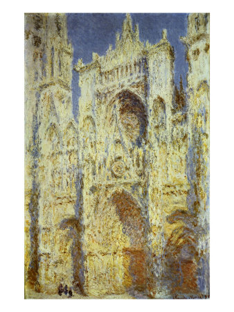 Rouen Cathedral, West Facade,