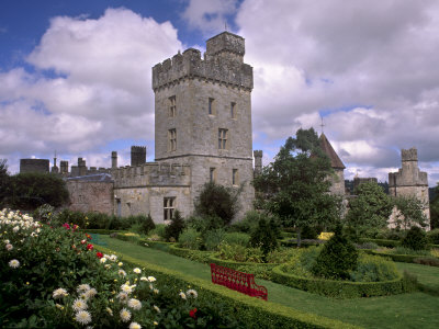 Lismore Castle, Lismore, County Waterford, Munster, Republic of Ireland Stretched Canvas Print