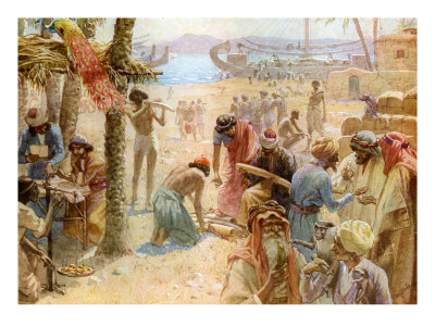 The commerce of King Solomon, I Kings 10: 22 - 23 Giclee Print by ...