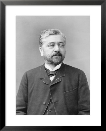 Alexandre Gustave Eiffel Framed Print. zoom. view in room