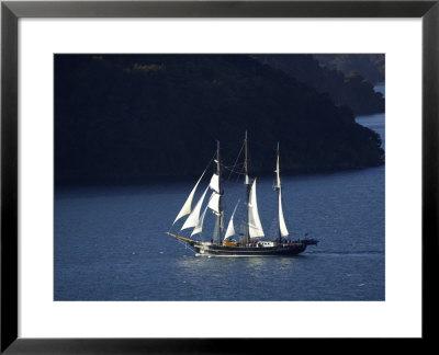 Spirit of New Zealand Tall Ship, Marlborough Sounds, New Zealand Pre