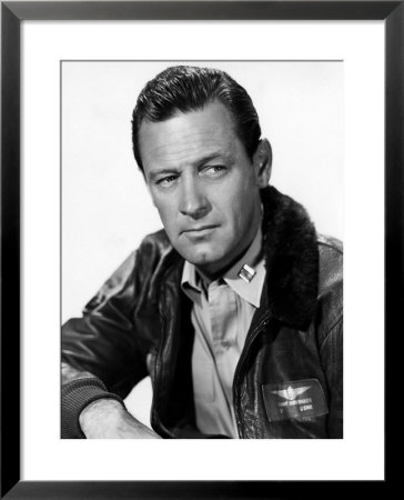 The Bridges at TokoRi William Holden 1955 Framed Print