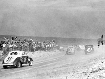 Vintage Stock  Auto Racing on Daytona Beach   Early Land Speed   Stock Car Racing   The H A M B