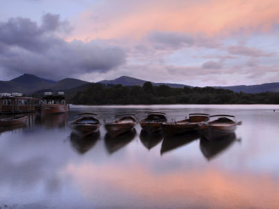 Derwentwater, Lake District, England, UK Stretched Canvas Print