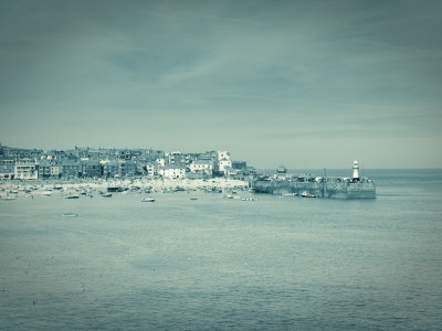 St, Ives, Cornwall, England Stretched Canvas Print