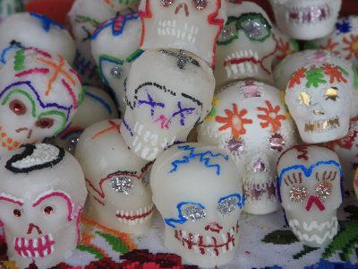 mexican day of dead art. Sugar Candy Skulls, Day of the