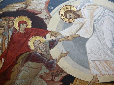 Le Christ est ressuscité d'entre les morts, pour être parmi les morts le premier ressuscité.