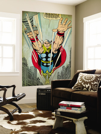 Thor Wall Mural