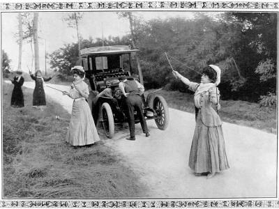 Oude foto van vrouwen die diaboloën