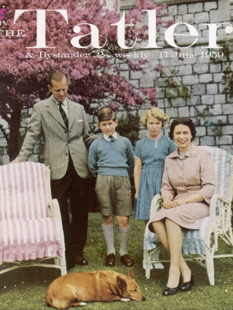 queen elizabeth ii family. Tatler Cover: Queen Elizabeth