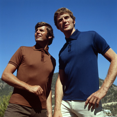 1970s Fashion Pictures on Retro Male Fashion Models  1970s  Polo Shirts  Posing  Catalogues