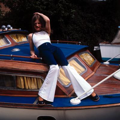 boat 1970s  retro
