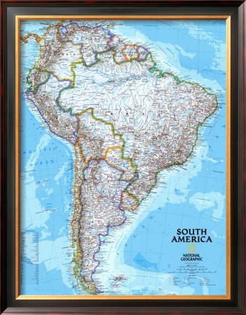 political maps of north carolina. South America Political Map