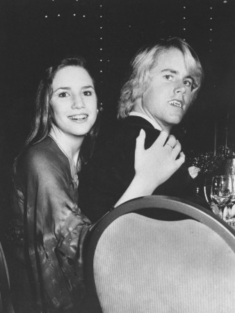 Actress Melissa Gilbert and Boyfriend Michael Landon, Jr. Attending the Third Annual Media Awards Stretched Canvas Print