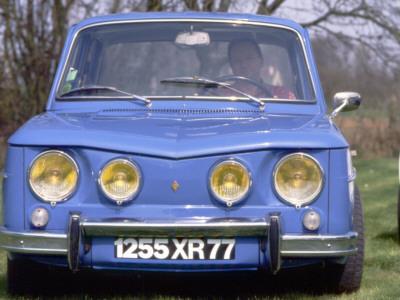 Renault 8 Gordini Stretched Canvas Print