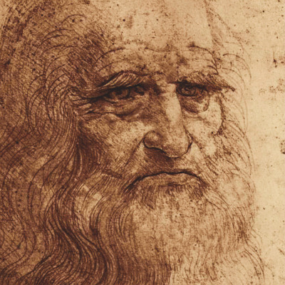 Self Portrait (detail) by Leonardo da Vinci