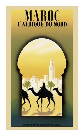 afrique du nord. Maroc l#39;Afrique du Nord Giclee
